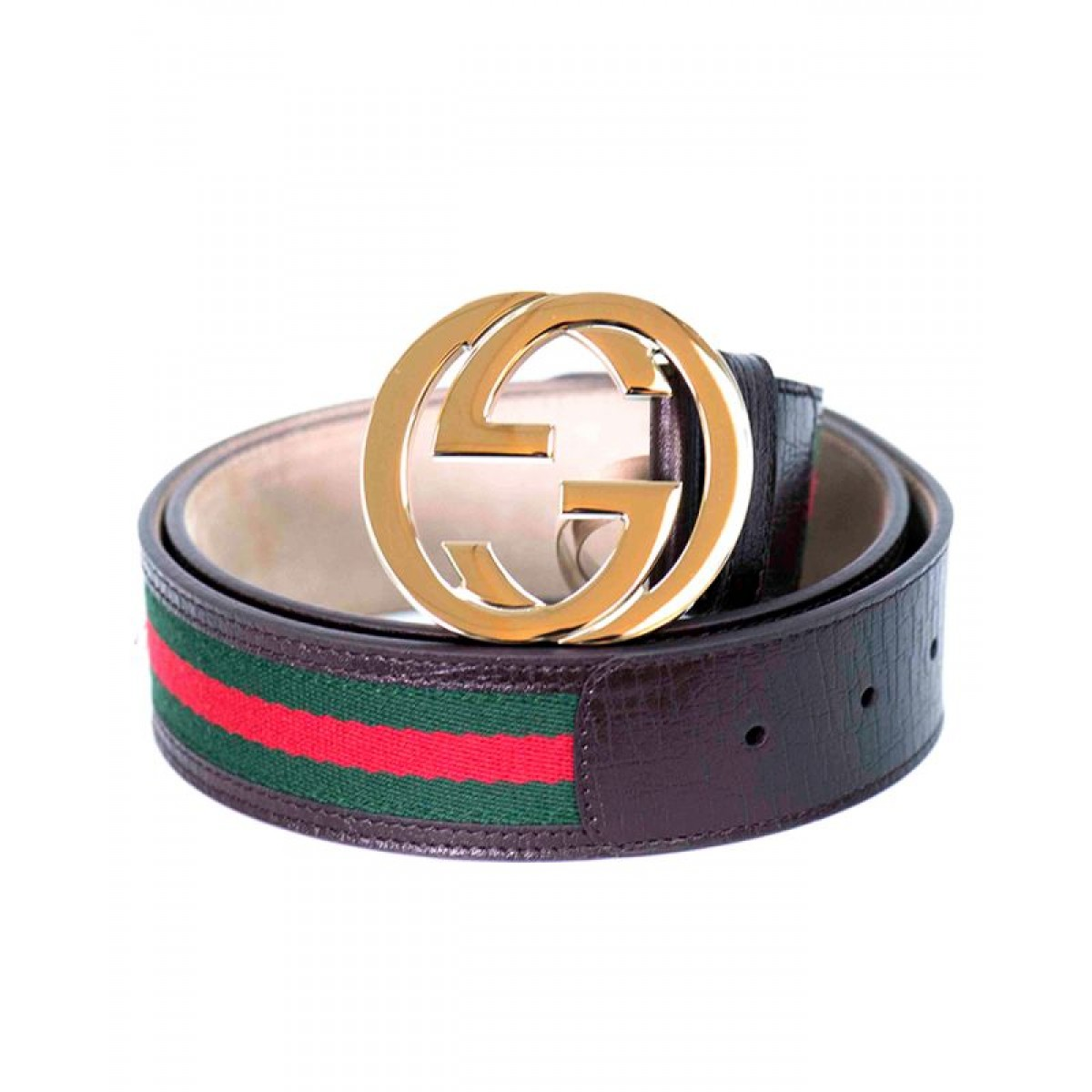 GUCCI BELT 114876 Green-red